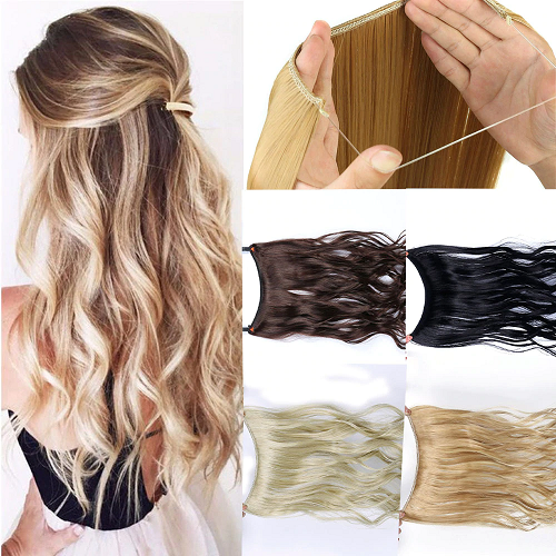 20 inch Invisible Halo Hair Extensions – *** FREE Shipping ***