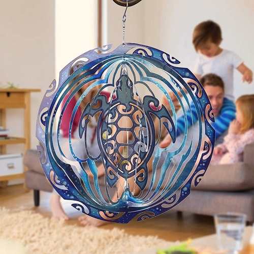 SEA TURTLE WIND SPINNER