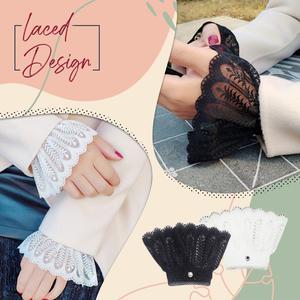 Layered Sleeve Wrist Cuff