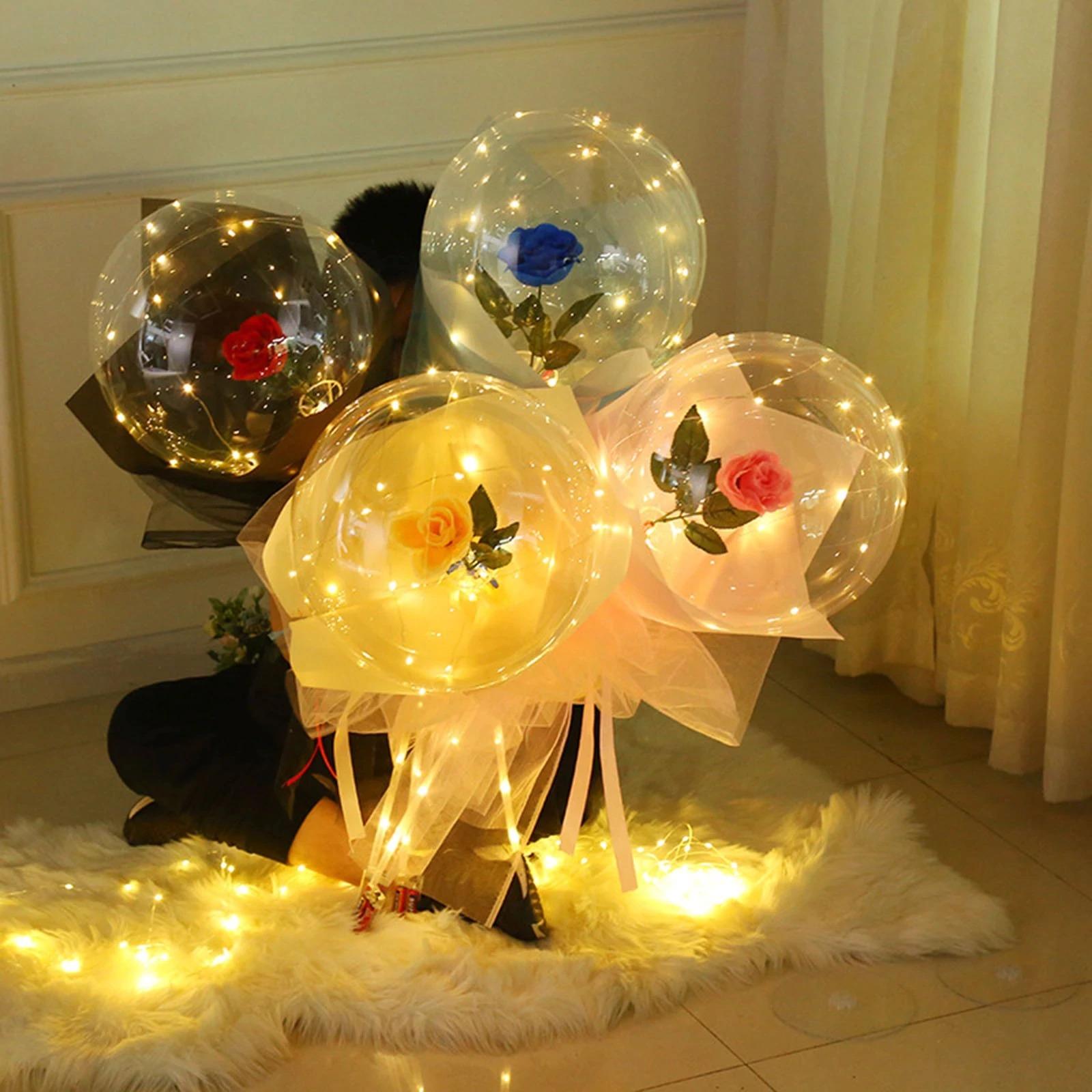 LED Romantic Lucid Rose Bouquet