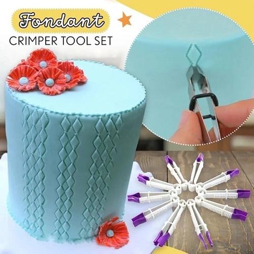 Fondant Crimper Tool Set